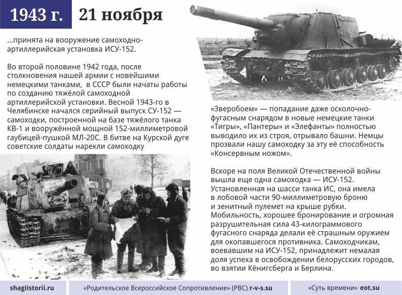21 ноября, 1943 года