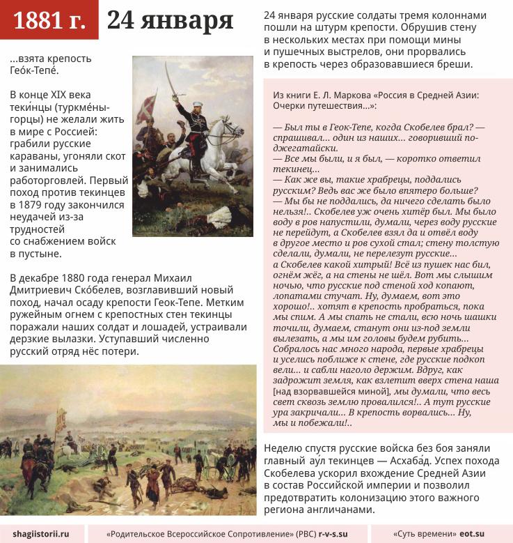 24 января, 1881 года