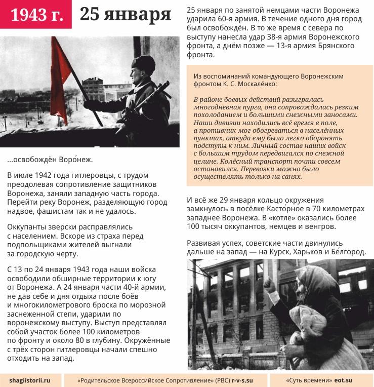 25 января, 1943 года