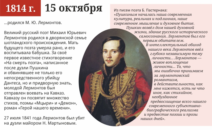 15 октября, 1814 года