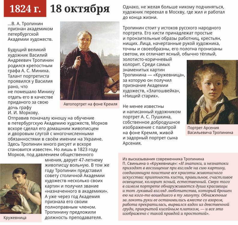 18 октября, 1824 года