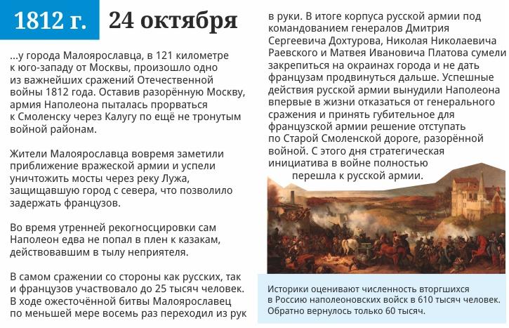 24 октября 1812 года