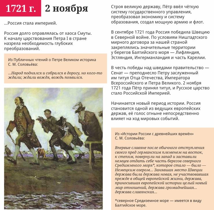 2 ноября 1721 года