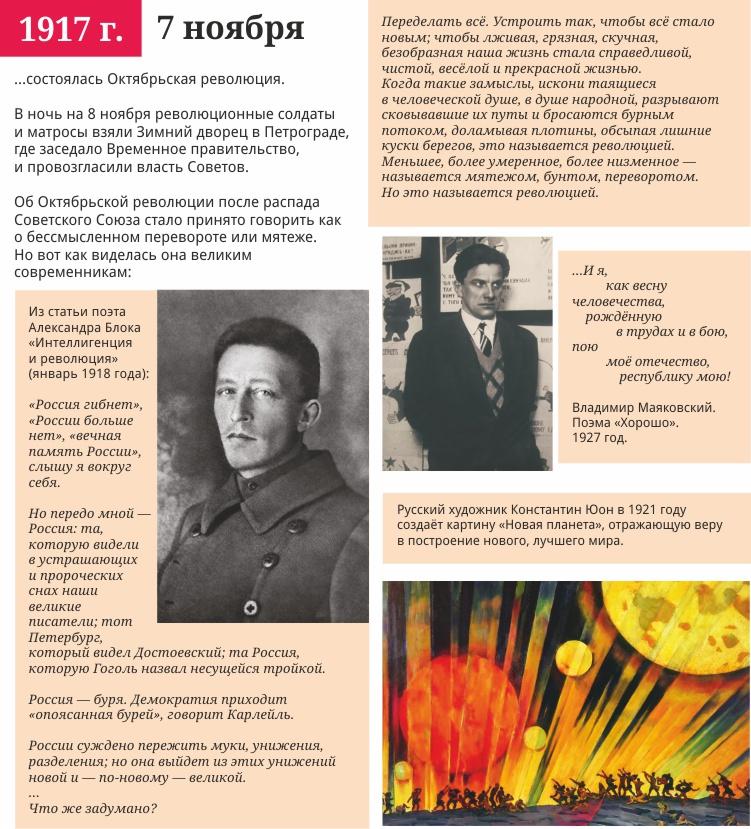 Сценарий октябрьская революция 1917 года