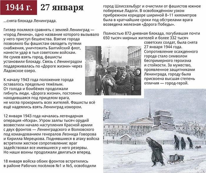 27 января 1944 год.