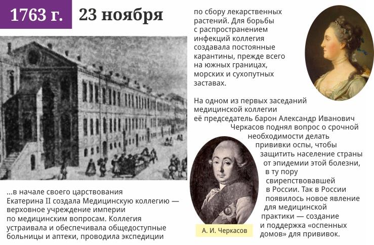 23 ноября 1763 года