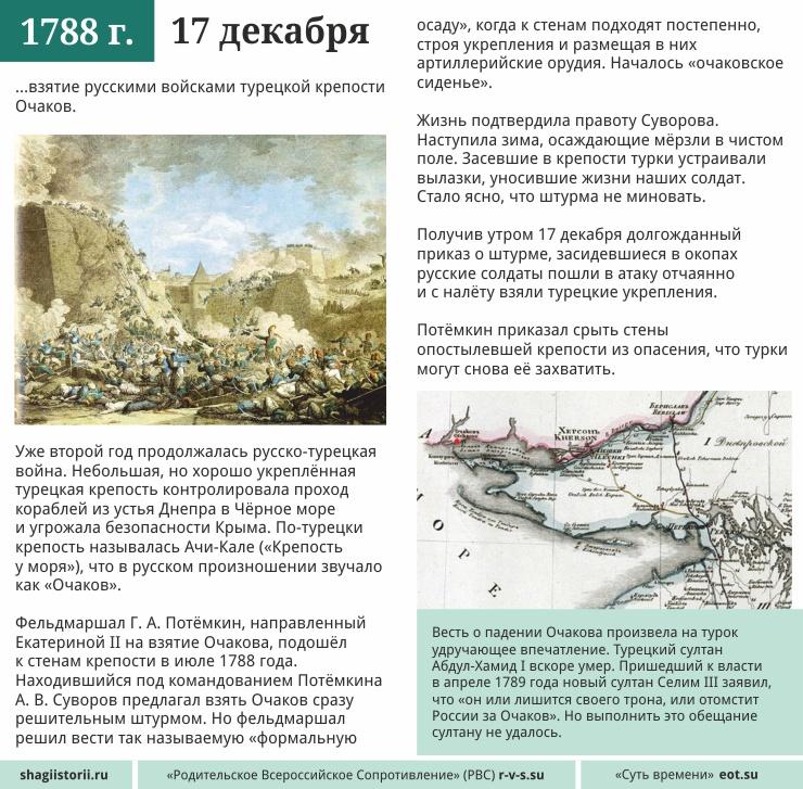 17 декабря 1788 года