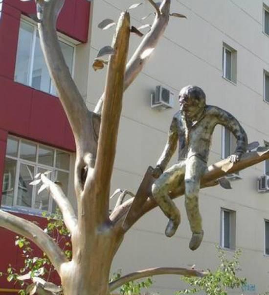 Памятник пословице, г. Якутск
