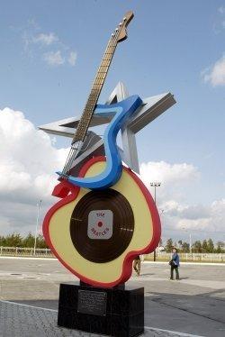 Памятник группе Beatles, г. Когалым