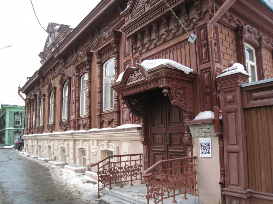 Дом Буркова в Тюмени