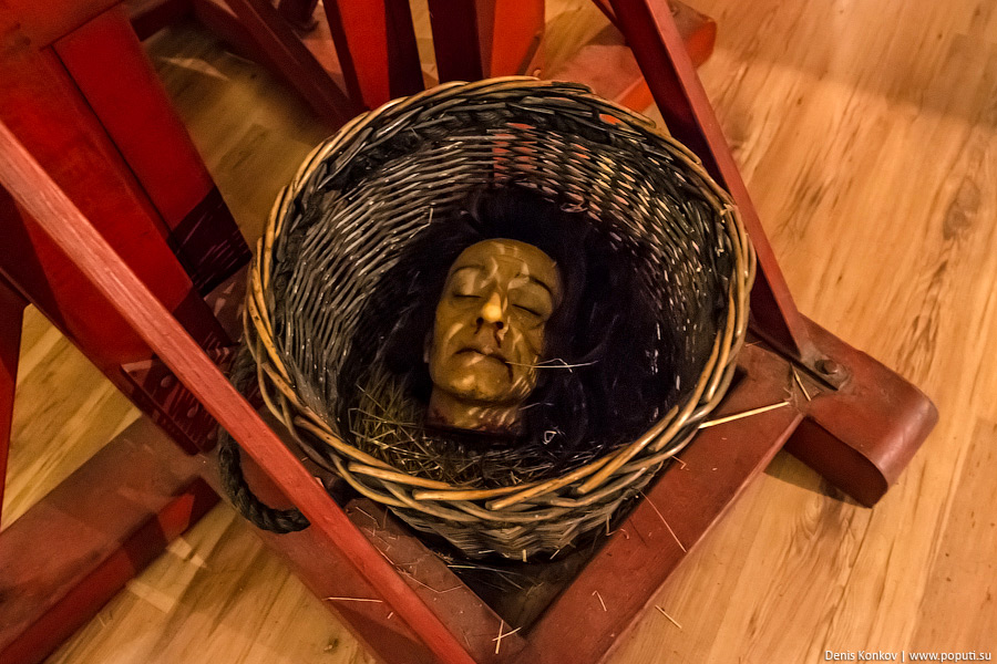 Музей пыток Санкт-Петербург