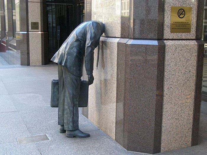 Памятник трудоголику, г. Лос-Анжелес, США