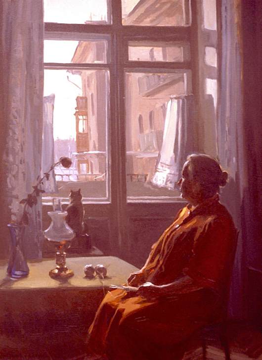 Large_Winter_Day_Between_the_Curtains_40_x_30_oil_on_canvas