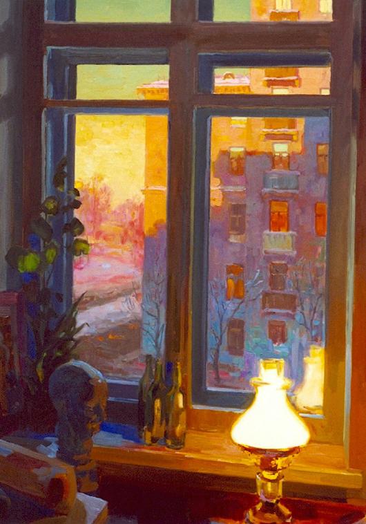 Large_Studio_Window_at_Sunset_48_x_36_oil_on_canvas