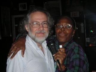 Alex and Imani karaoke in Washington, D.C. (2007)