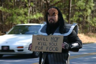 Possibly (but not likely) the Klingon in Question