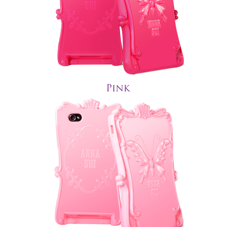 ANNA SUI Magic Mirror iPhone 4S Case rose