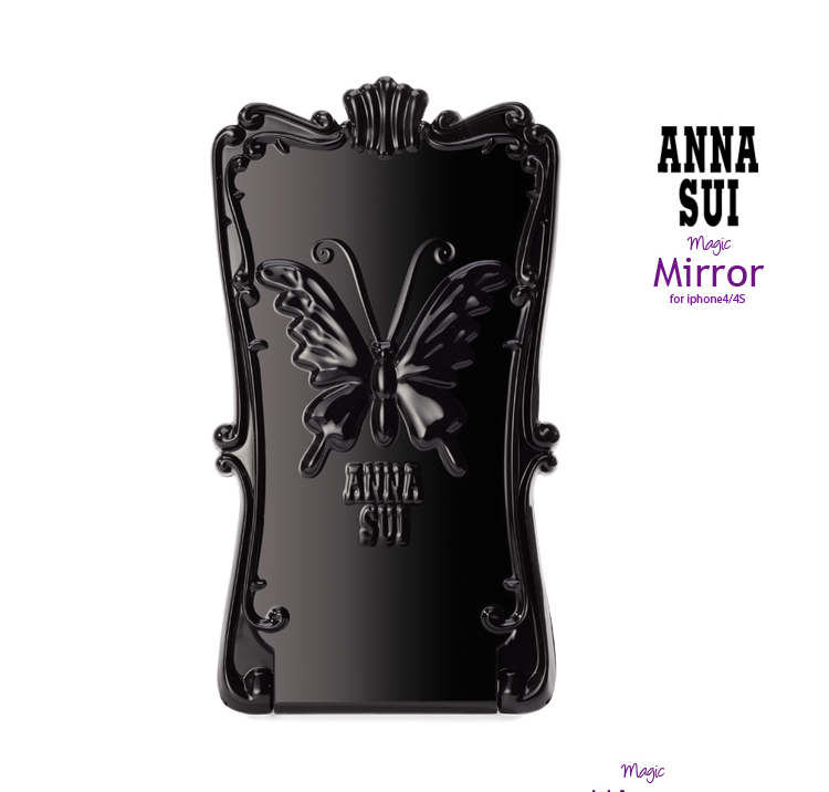 ANNA SUI Magic Mirror iPhone 4S Case black