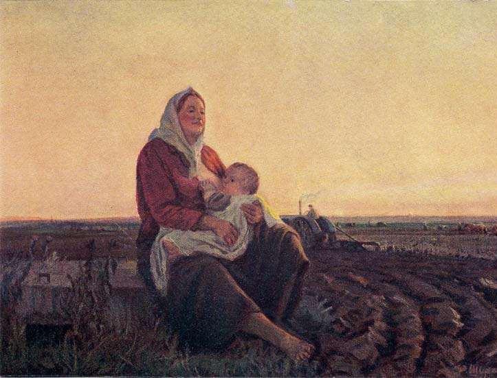 Шурпин-Федор-Саввич.-Мать.-1947