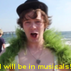 I will be in musicals! icon