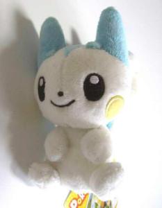 PokemonCenterPachirisuCanvasMascotPlushFront22007