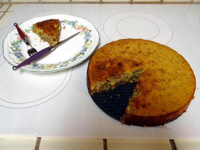 orange pecan cake