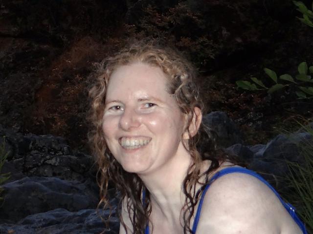 me at Fairy Falls