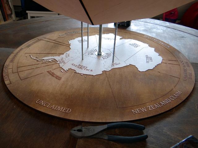 Barry's map of Antarctica