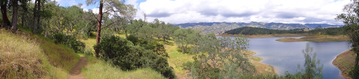 Lake Berryessa from the Smittle Creek trail