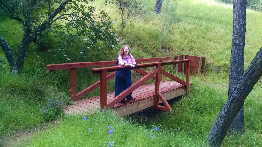 me on the Smittle Creek trail