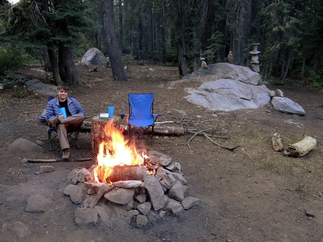 Barry at Silver Lake Campground, September 2016