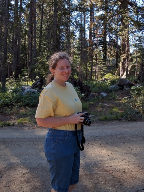 me at Silver Lake Campground, September 2016