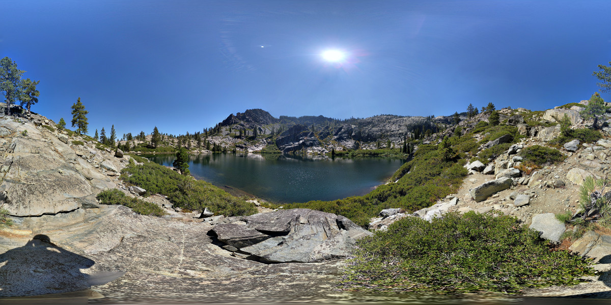 Gold Lake photo sphere