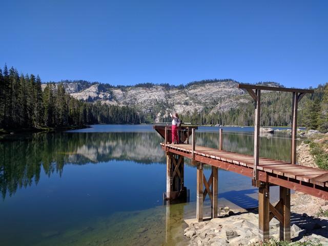 me at Silver Lake