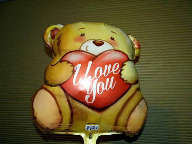 a Beary balloon from Barry
