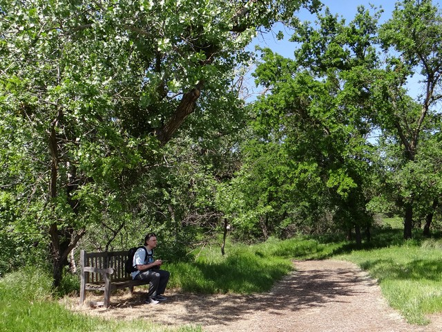 Barry at Cache Creek Nature Preserve