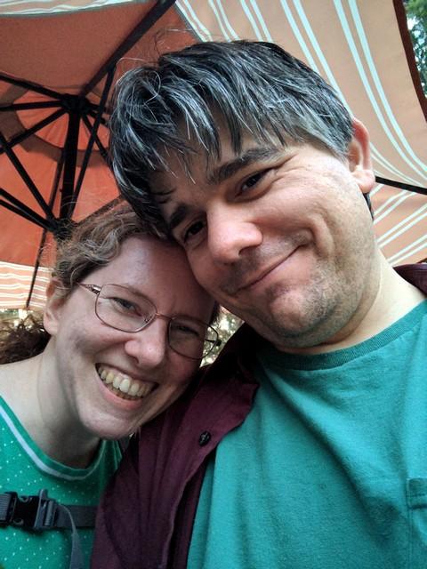 us on the balcony of the Blue Balcony Room