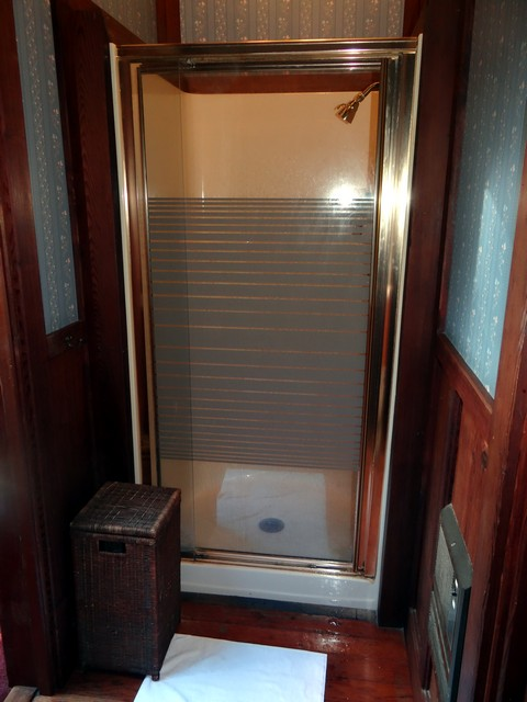bathroom of the Blue Balcony Room
