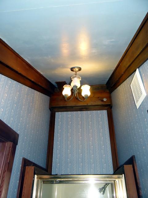 bathroom of the Blue Balcony Room