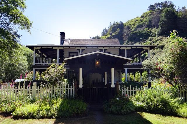 farmhouse at Howard Creek Ranch Inn