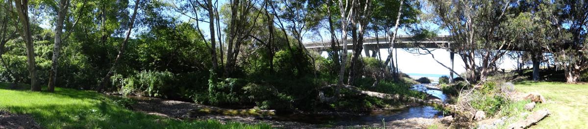 Howard Creek panorama