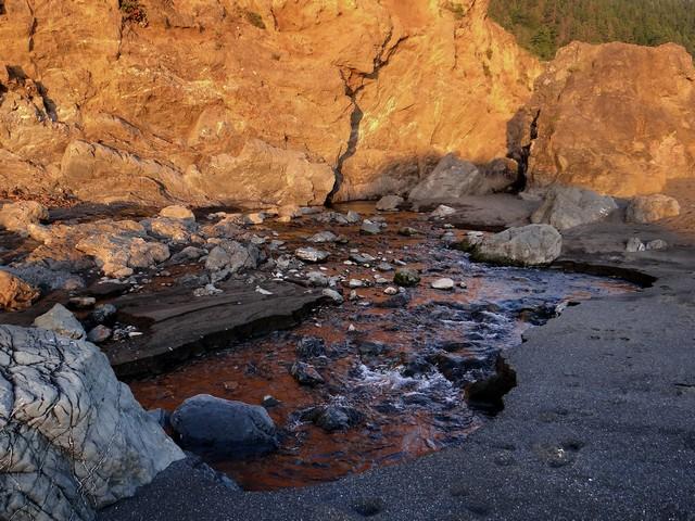 Howard Creek at Westport-Union Landing State Beach