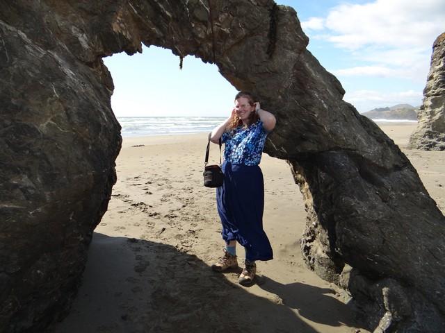 me at Seaside Beach