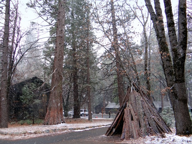 Yosemite Museum, Yosemite Village, February 26, 2018