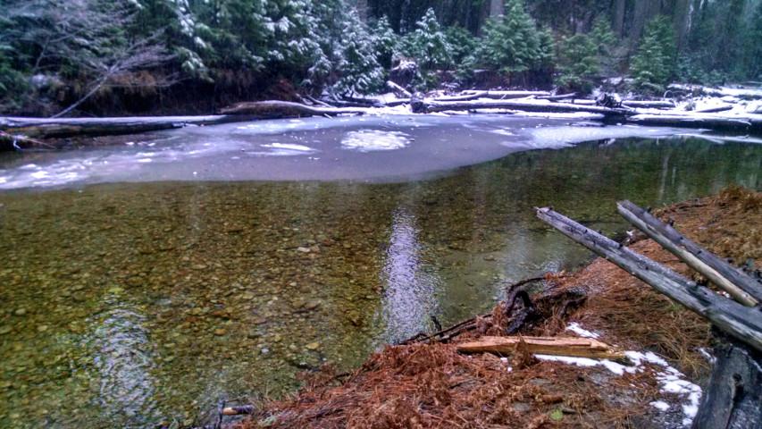 Merced River, Lower Yosemite Falls Trail, February 26, 2018