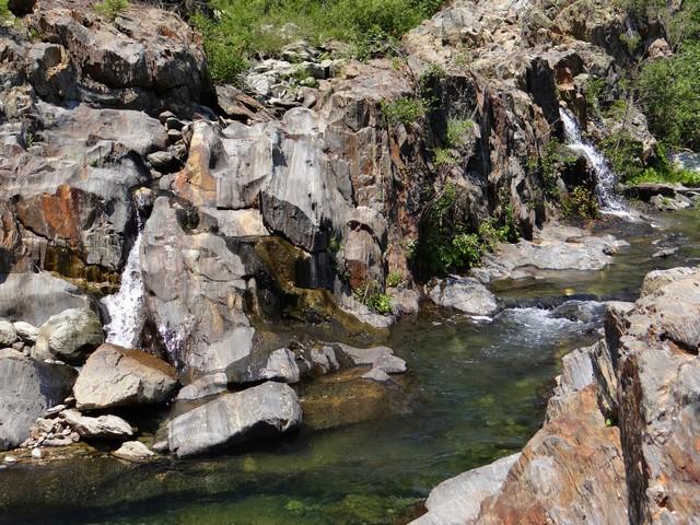 Slate Creek waterfalls