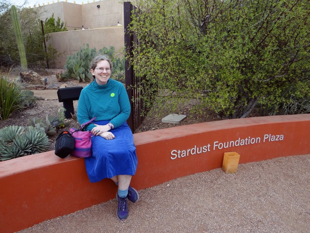 Me at the Desert Botanical Garden in Phoenix