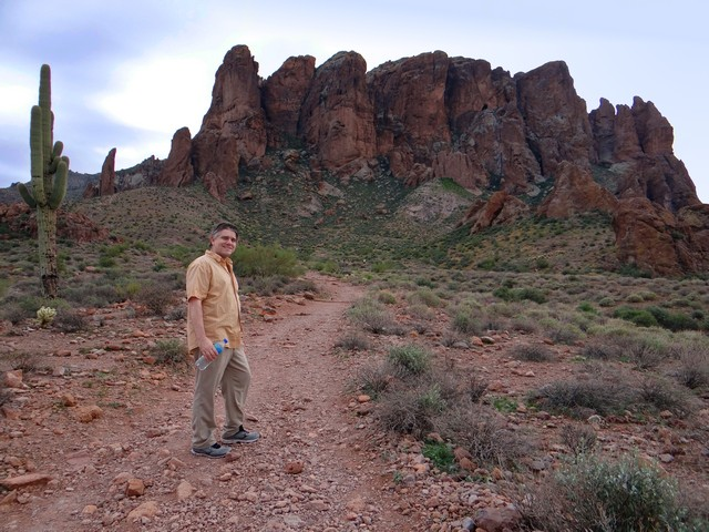Barry and the Superstition Mountains, Lost Dutchman State Park