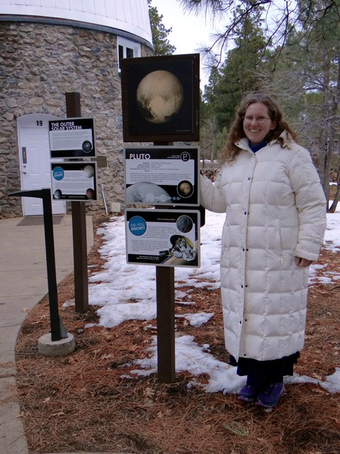 me at the Lowell Observatory