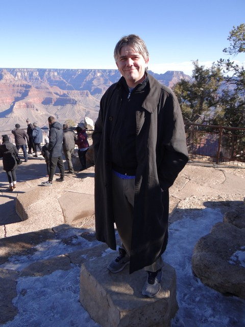 Grand Canyon: Barry at Mather Point Amphitheater